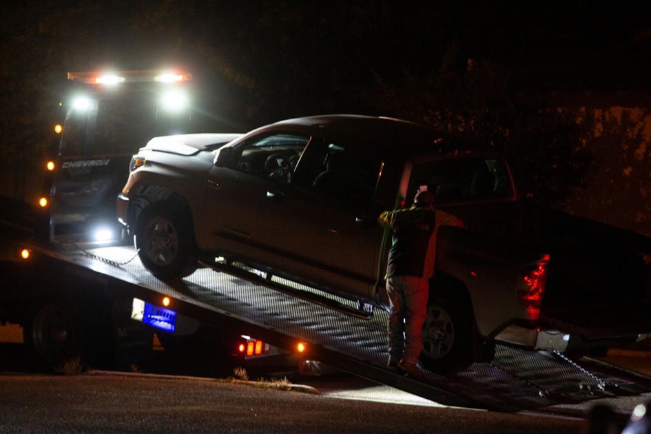 Toyota Tundra rolls on East Rio Grande Street in Victoria