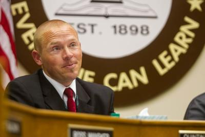 VISD school board meeting