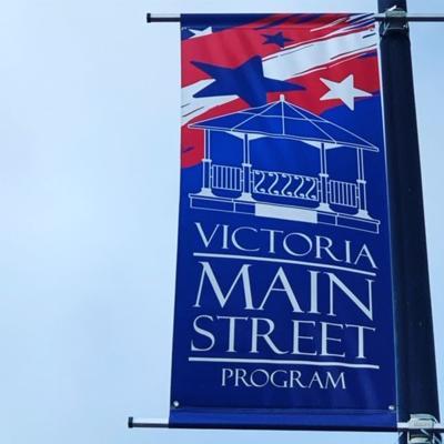 Victoria Main Street Program banner