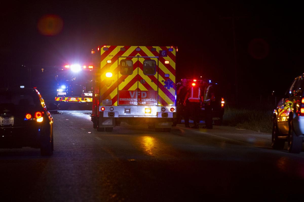 Crash on SH 185 southbound
