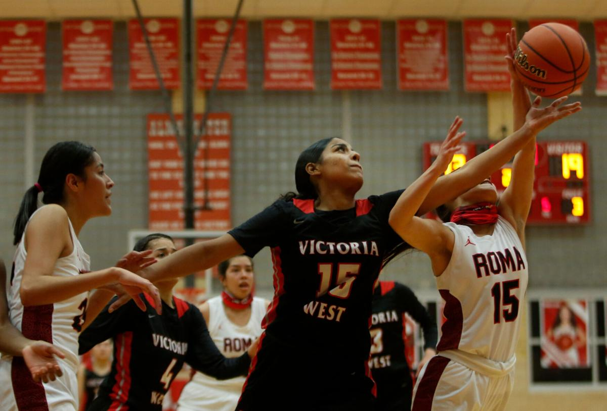 Victoria West vs. Roma Girls Basketball
