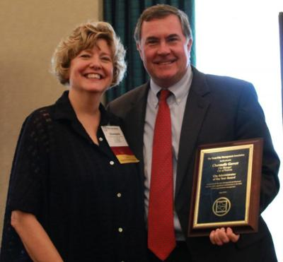 Victoria's city manager recognized by statewide association