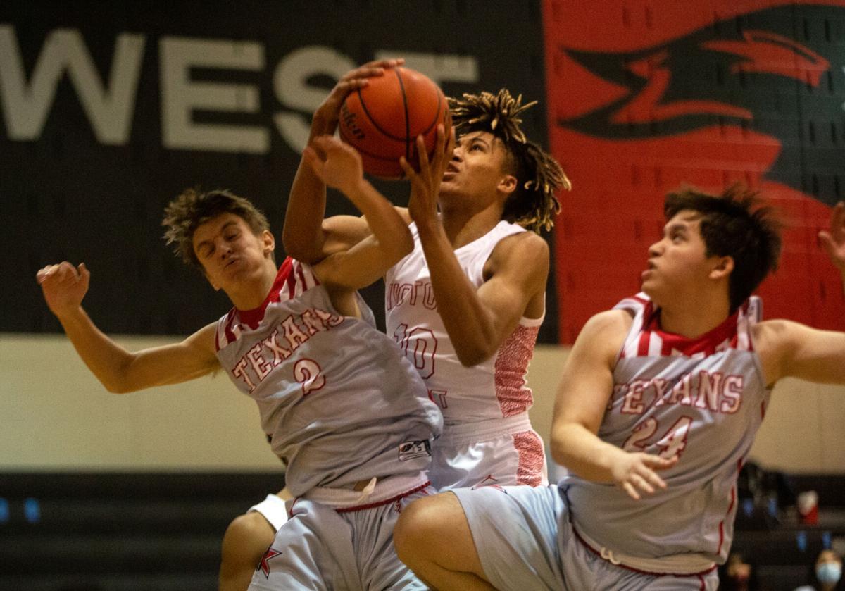 Victoria West vs. Corpus Christi Ray Basketball