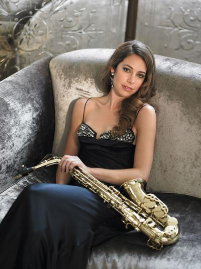Saxophonist Amy Dickson will perform with the Victoria Symphony Orchestra Oct. 26.