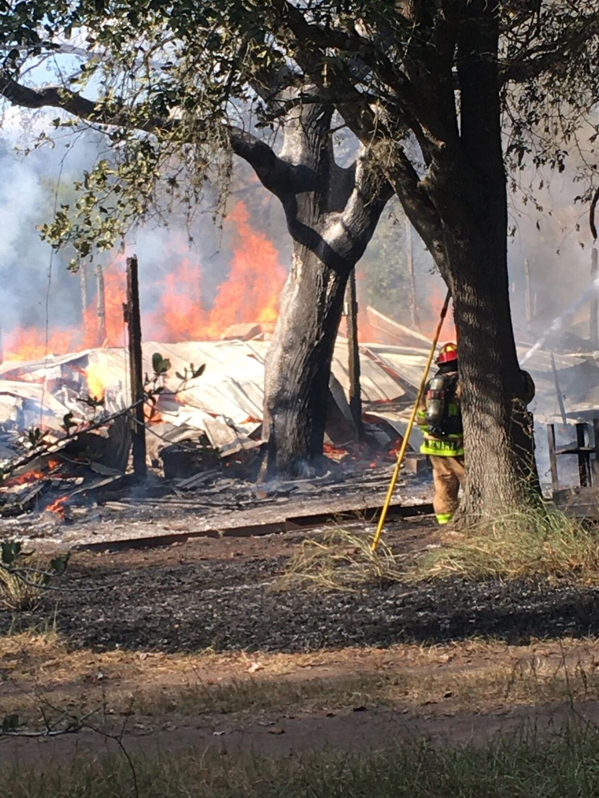 Firefighters dispatched to Victoria County fire