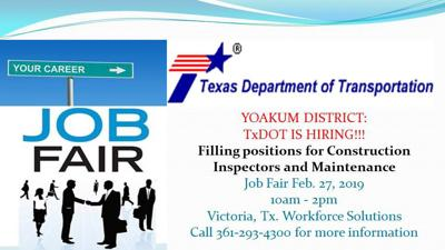 Texas Department Of Transportation To Host Job Fair Feb 27