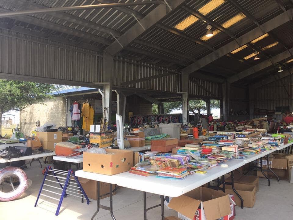 Port O'Connor Service Club is having a Fall Garage Sale