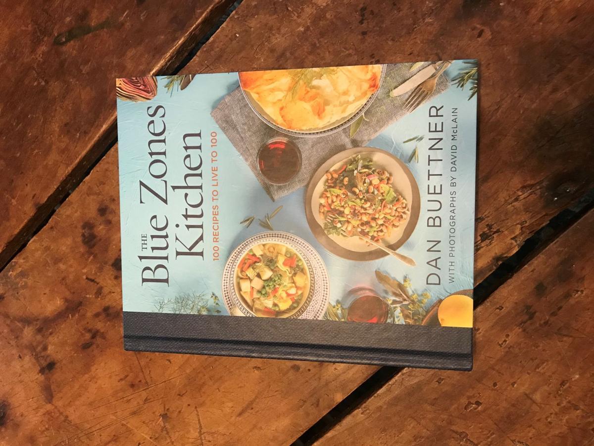 'The Blue Zone' cookbook