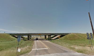 U.S. 59 overpass near Telferner