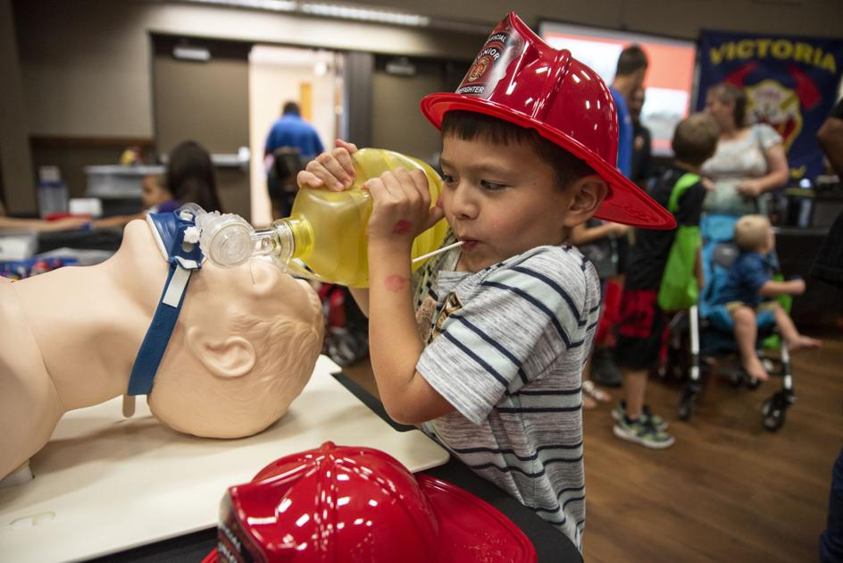 Safety fair connects children with law enforcement