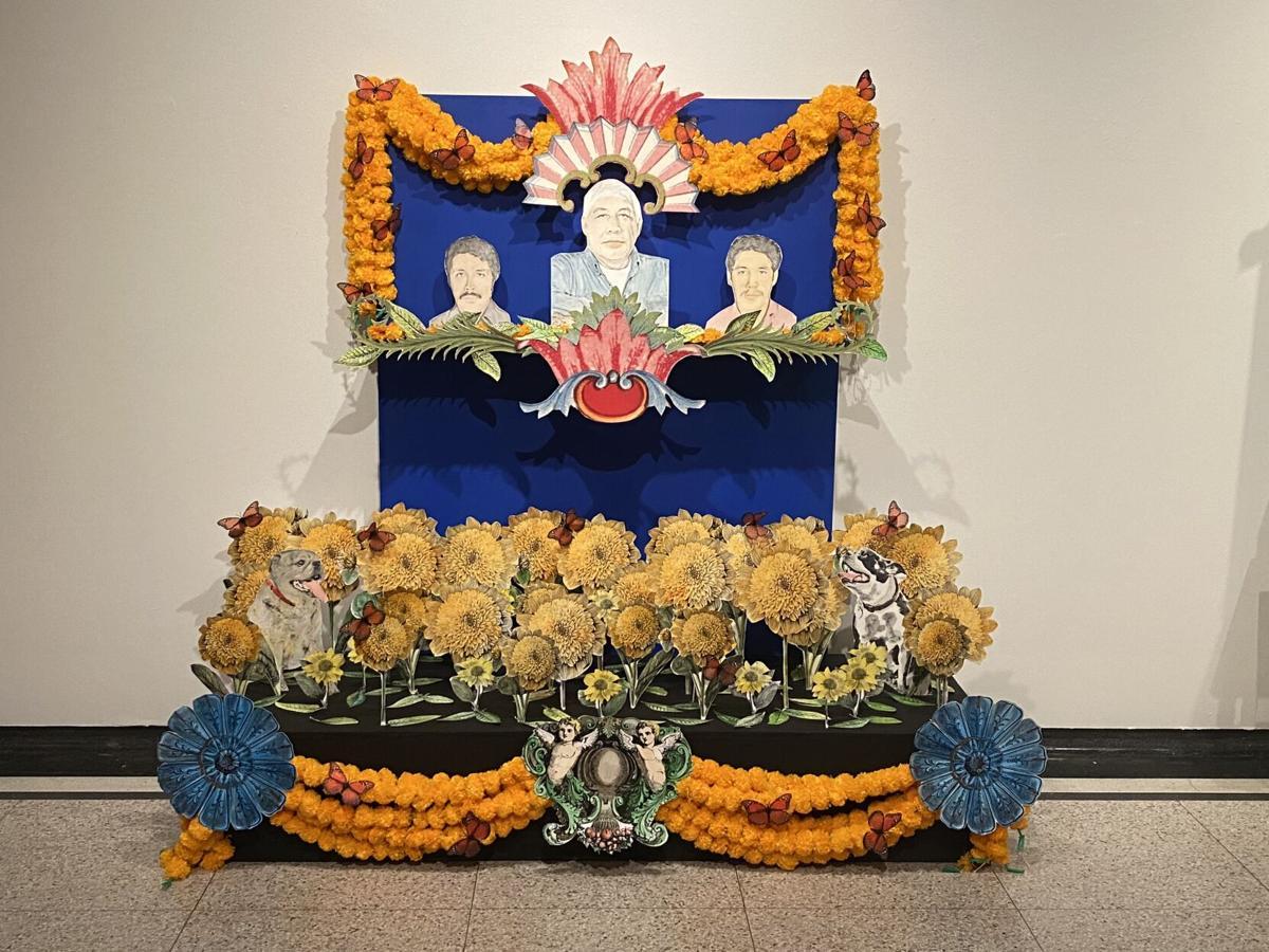 Dia de los Muertos exhibit