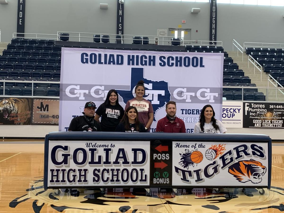 Goliad's Julia Morris signs with Victoria College