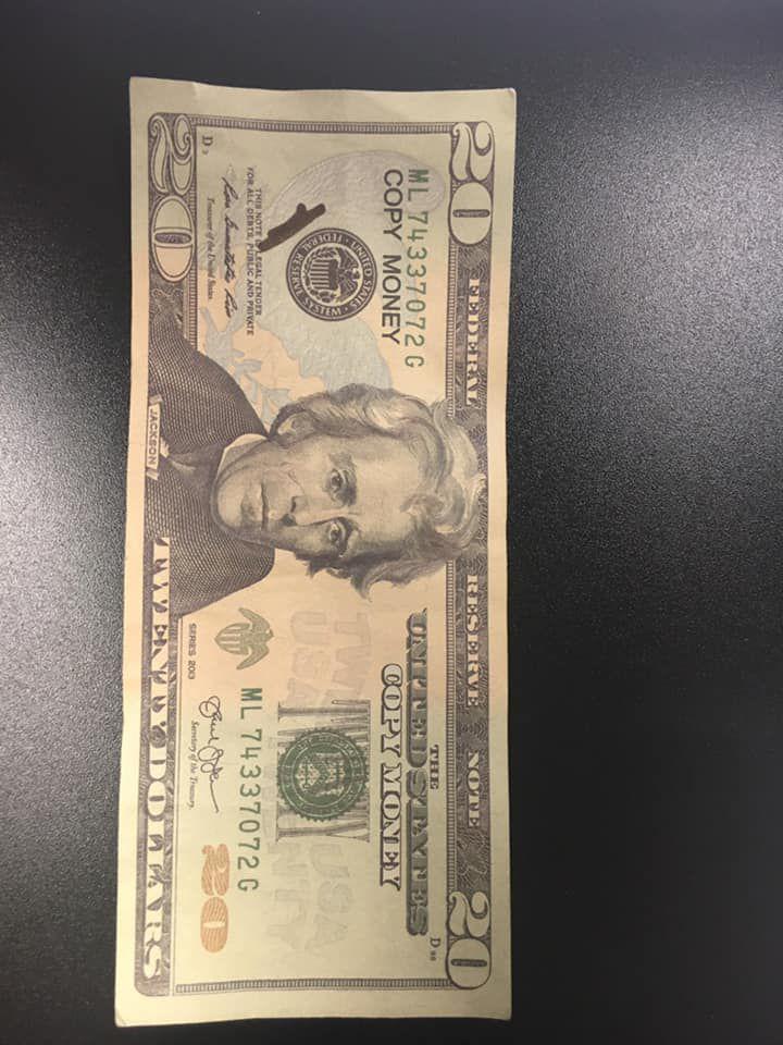 Counterfeit Bill