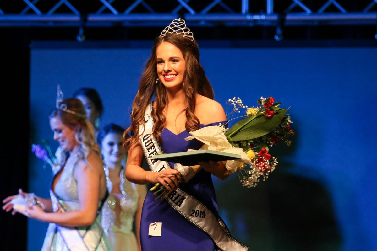 Contestants show beauty at Queen Victoria Pageant   Local