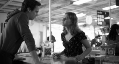 Alex Godbout and Marguerite Bouchard in a scene from 'Slut in a Good Way'