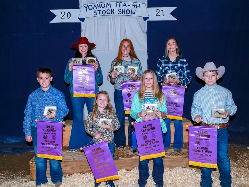 Annual Yoakum livestock show ends auction with nearly $130,000 spent