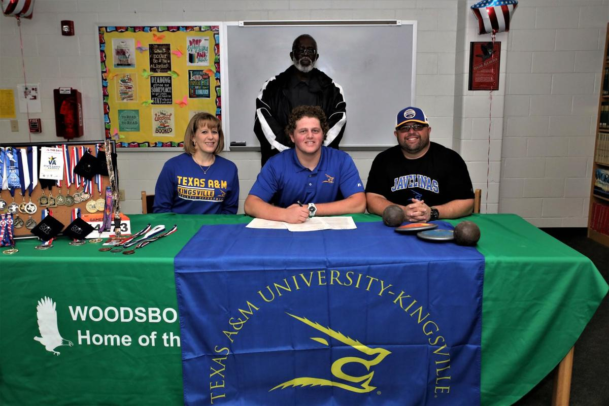 Woodsboro's Burns signs with Texas A&M-Kingsville