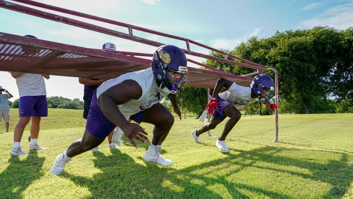 Shiner Football Practice
