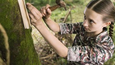 Taissa Farmiga as Merricat Blackwood in 'We Have Always Lived in the Castle'