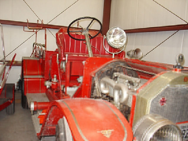 Old Cuero fire truck