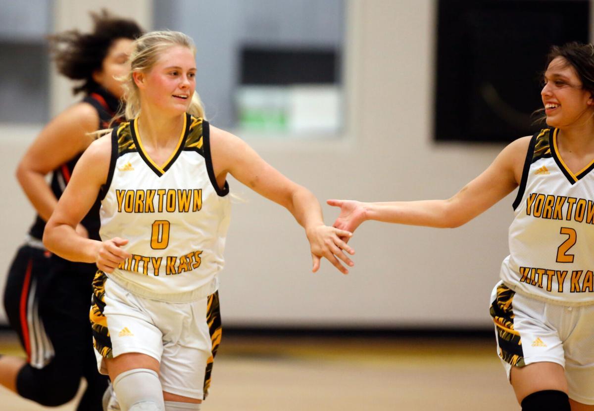 Yorktown vs. Refugio Girls Basketball
