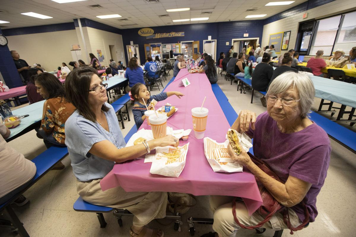 Shields Elementary School observes Grandparents' Day
