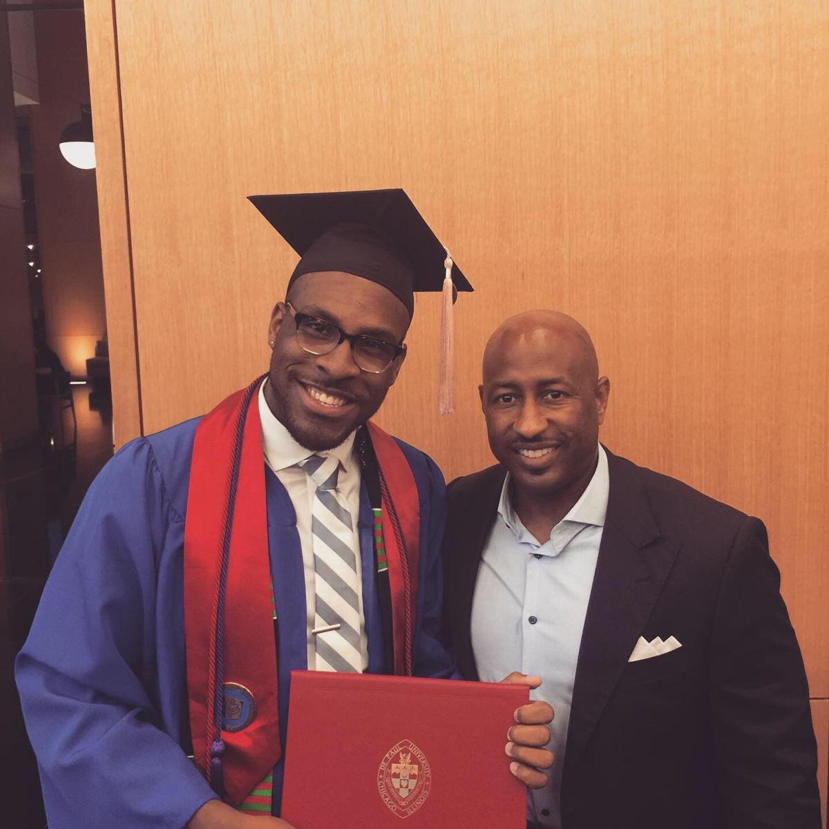 Talk of the Town: Willord Simmons graduates from Harvard University