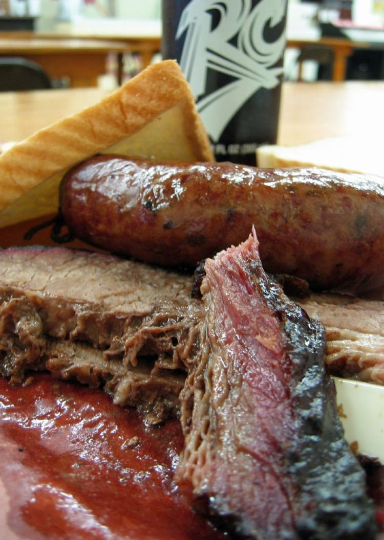 brisket and sausage