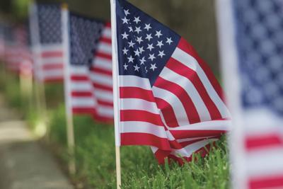 Victoria residents show colors for Fourth of July