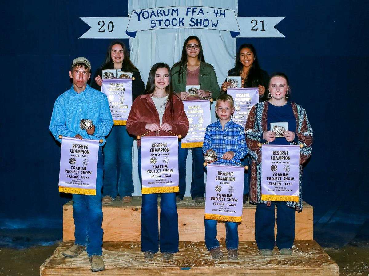 2021 Yoakum Project Show, Reserve Champions