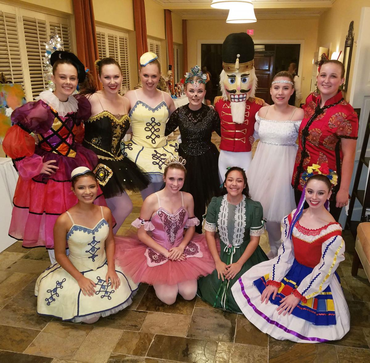 'The Nutcracker' dancers at a benefit for Victoria Ballet Theatre