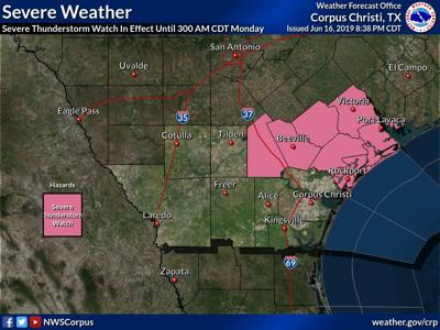 Crossroads may see severe thunderstorms after midnight