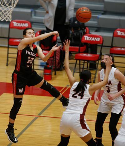 Victoria West vs. Roma Girls Basketball