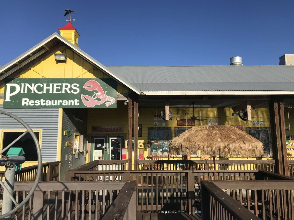 Fresh coastal fare awaits diners at Pinchers