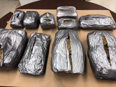 Victoria police seize more than 40 pounds of marijuana