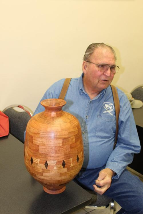 South Texas Woodturners Association to learn about segmented