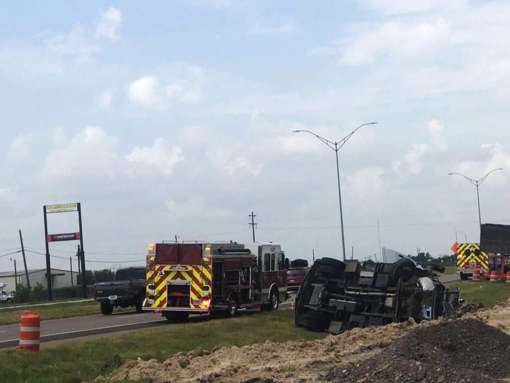 Fatal crash on US 59 rollover