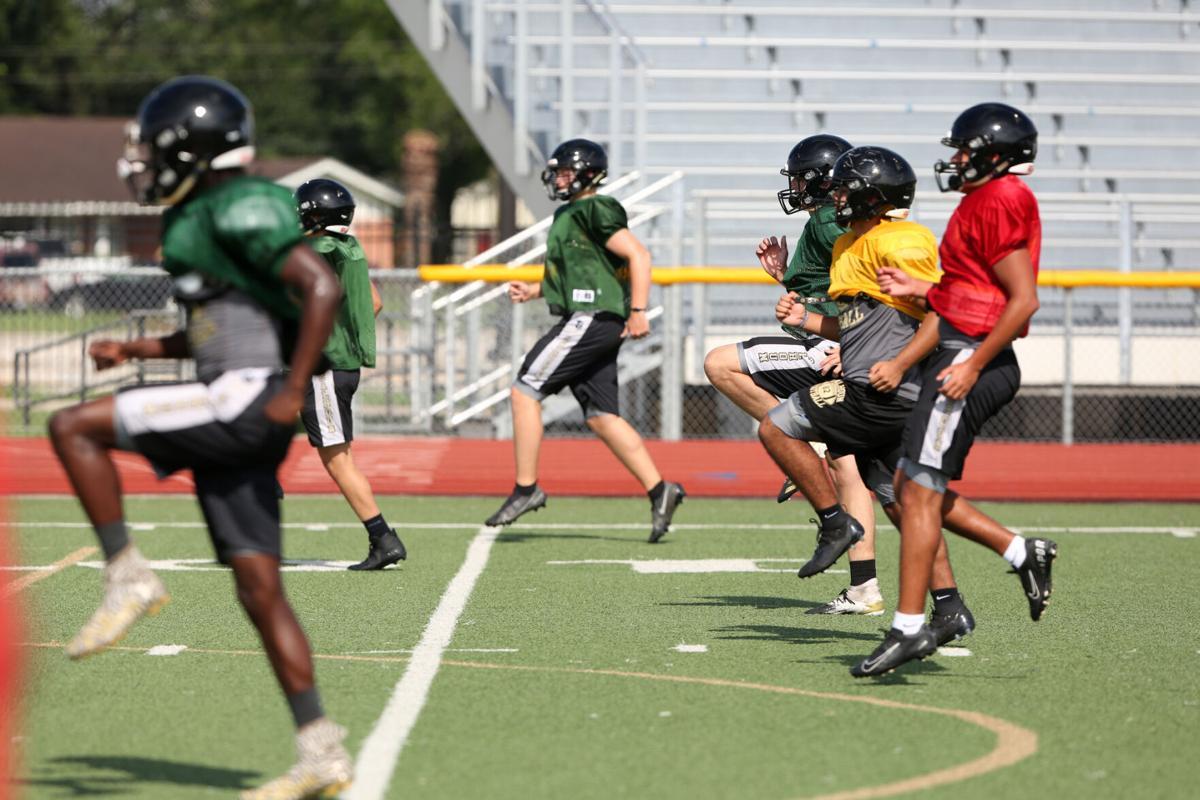 Calhoun Football Practice
