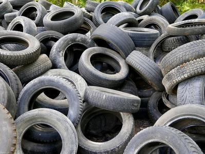 Scrap tires photo