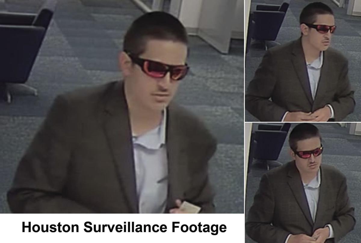 Surveillance footage from robbery in Houston