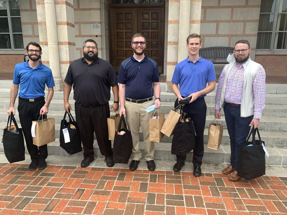Seminarians at St. Mary's Seminary in Houston