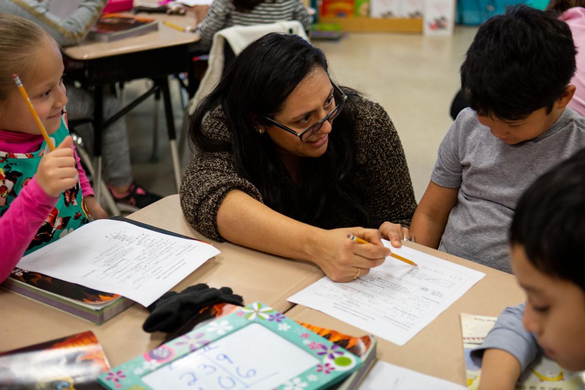 Billingual Class at Crain Elementary