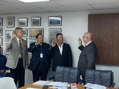 Calhoun Port Authority swears in new board members