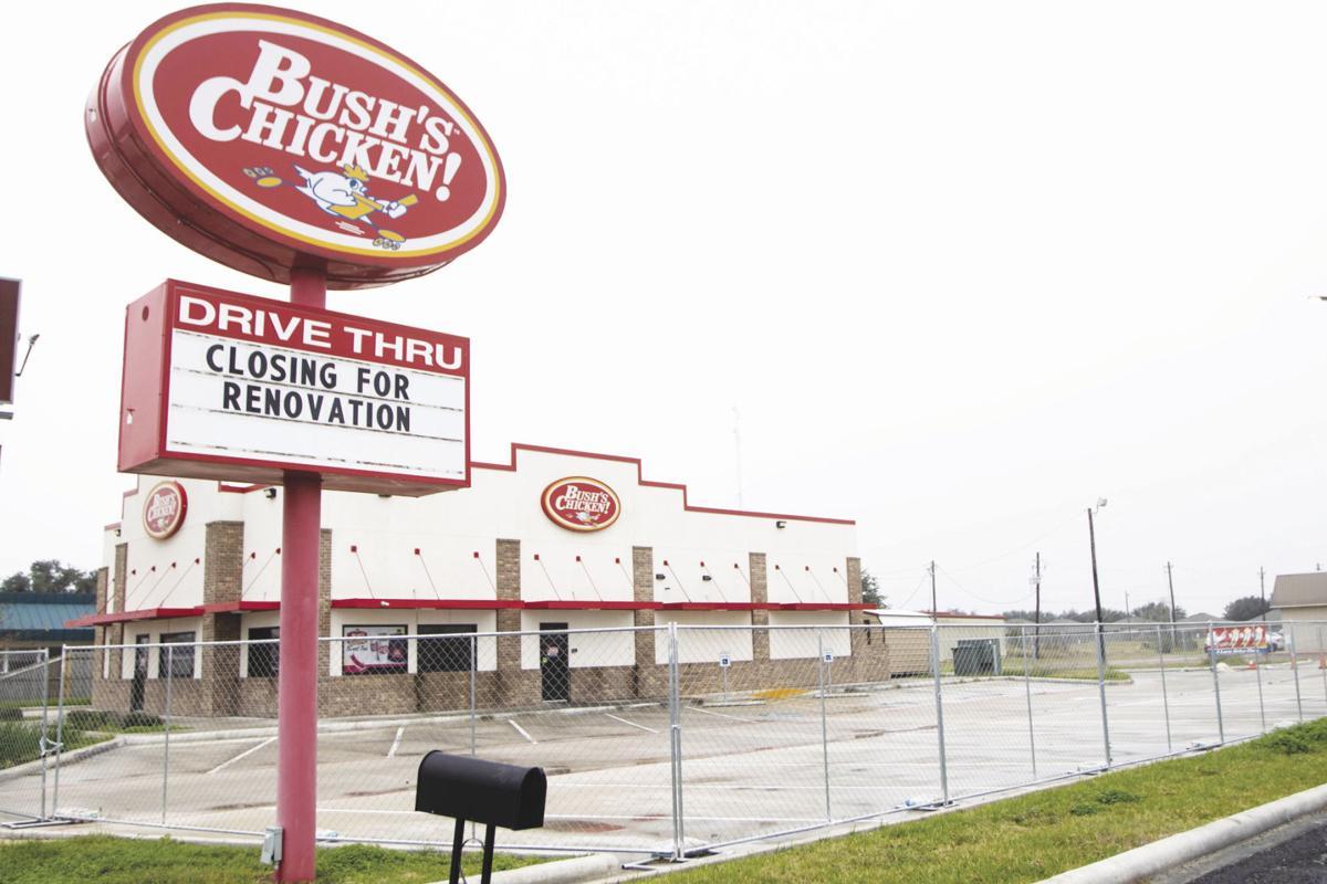 Bush's Chicken closure