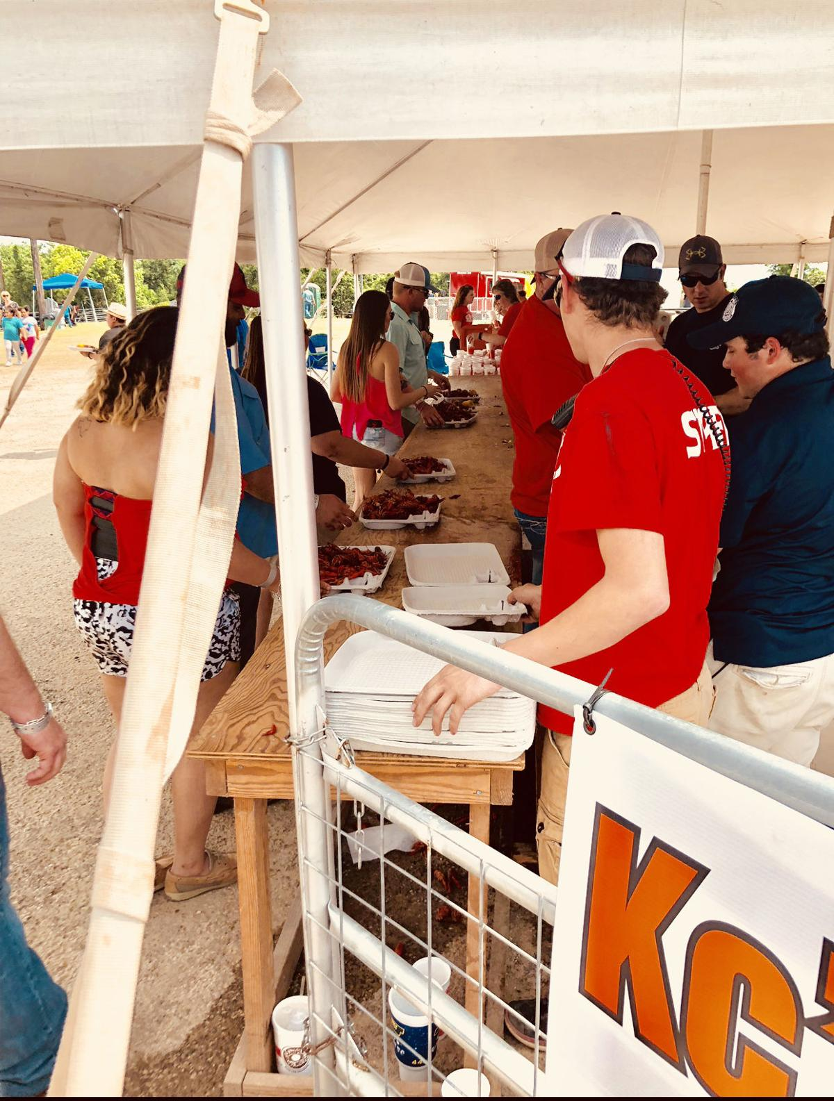 Ganado Volunteer Fire Department's annual Crawfish Festival