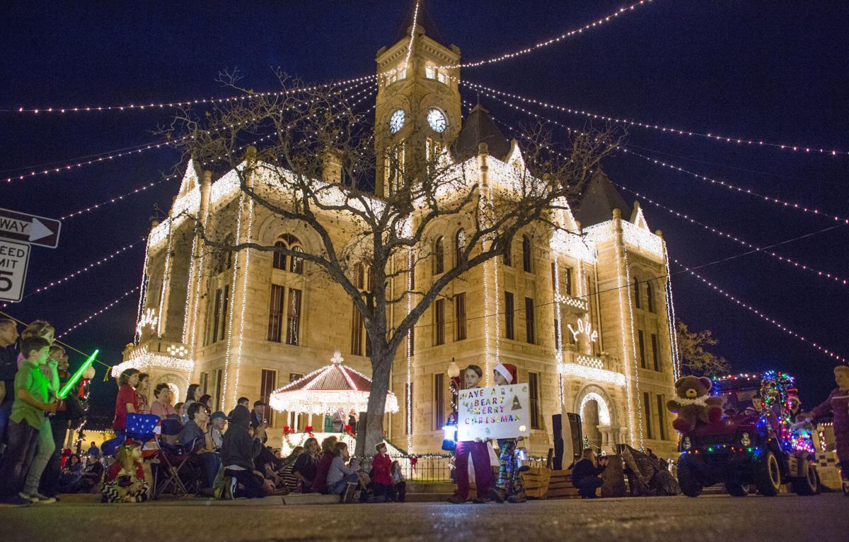 Hallettsville's Festival of Lights