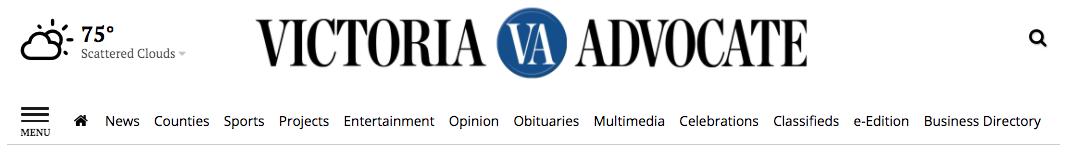 VA website header