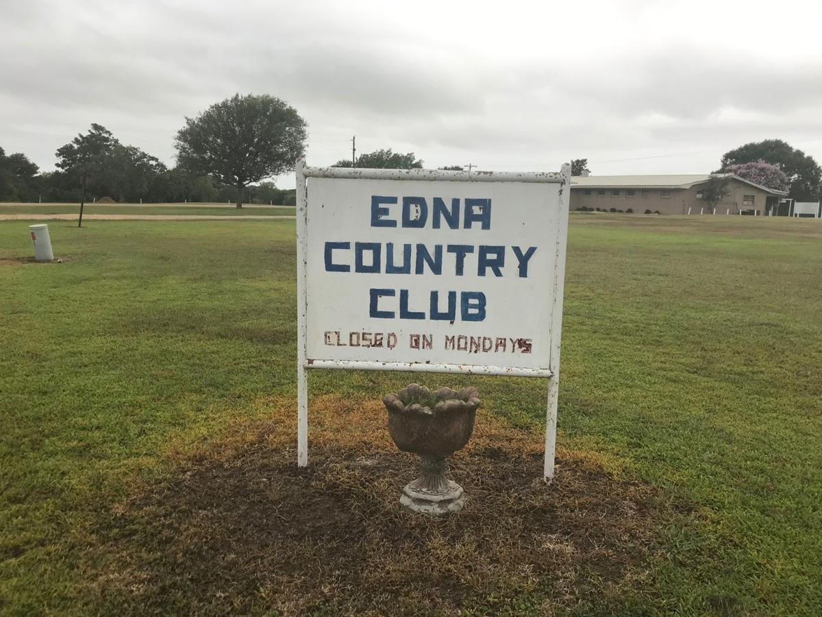 Edna Country Club sign