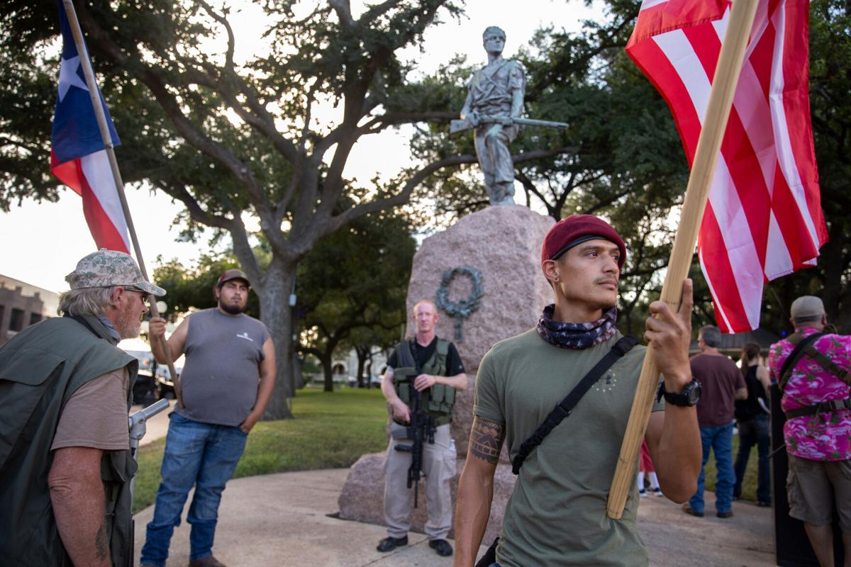 Confederate monument protest