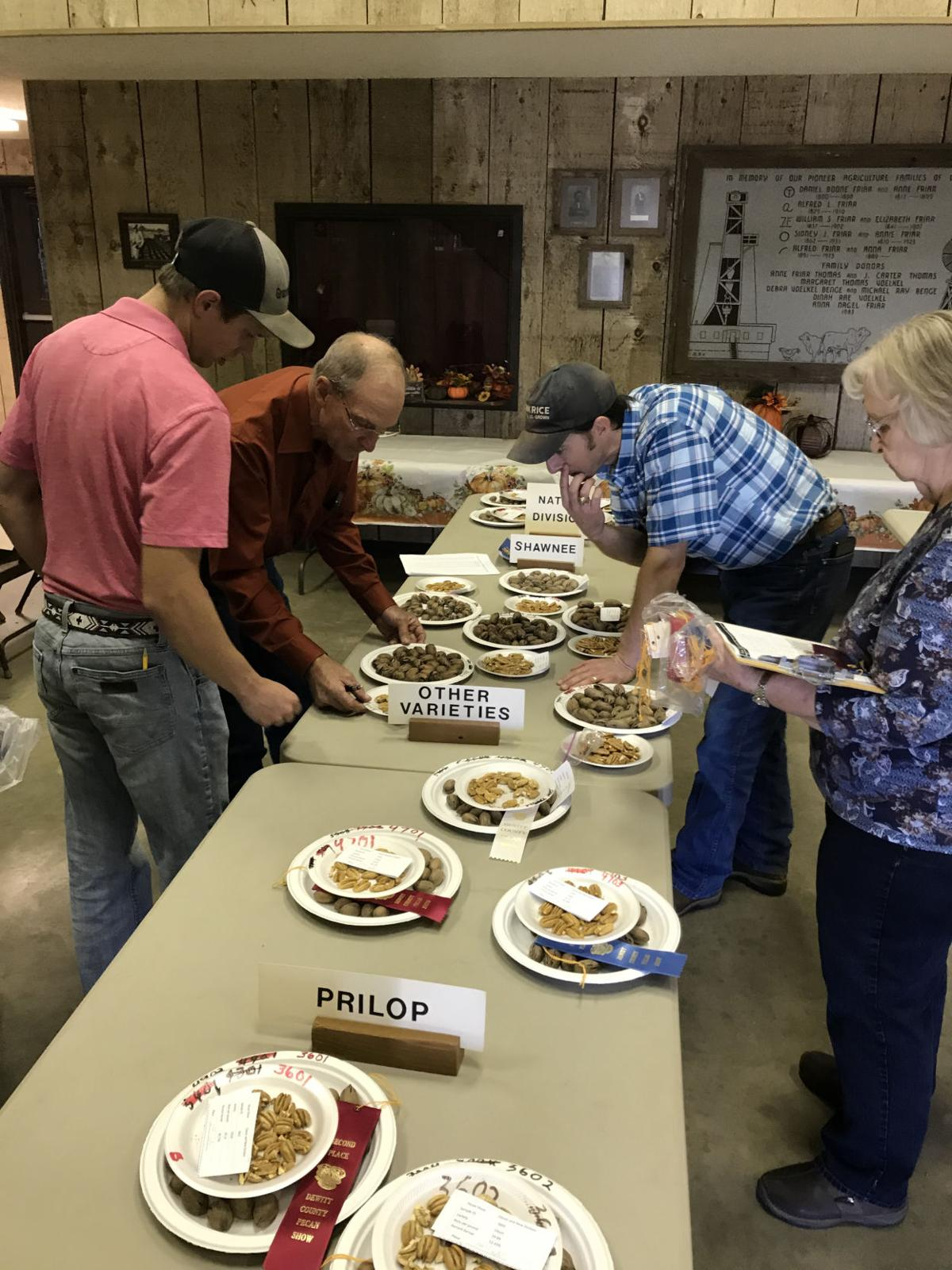 57th annual DeWitt County Pecan Show Results